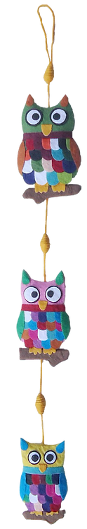 Owls In Miniature