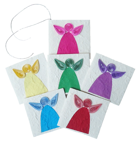 Angel Gift Tags Set of six