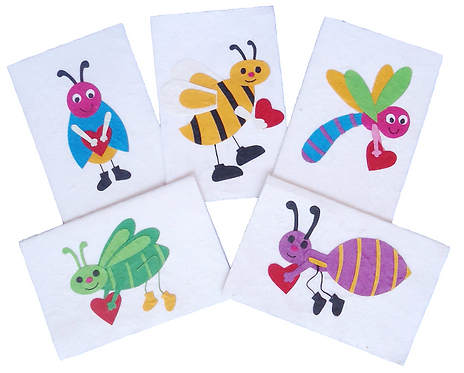 Insect Infestation Cards
