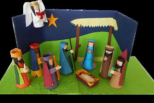 Standing Nativity Set
