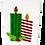 Thumbnail: Striped Festive Cards