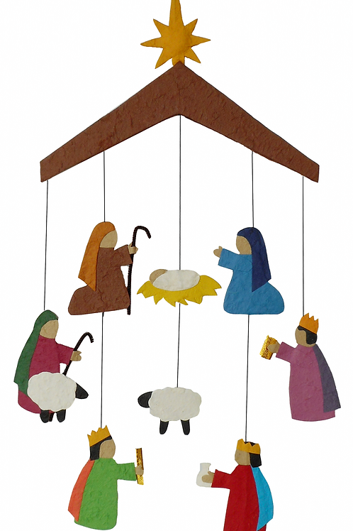 Nativity for the Wall