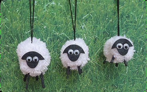 Woolly Sheep Set of 3