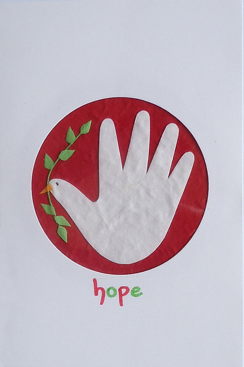 Hope In Our Hands Card