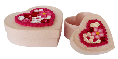 Heart Jewellery Boxes