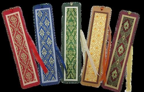 Thai Fabric Bookmarks
