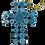 Thumbnail: Saa Spiral Cross Keychain