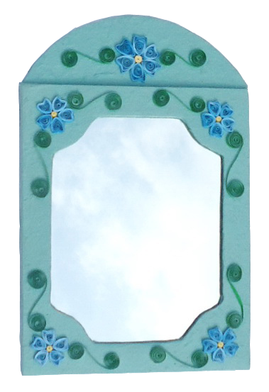 Quilled Mirror