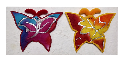 Butterfly magnet - pack of 2