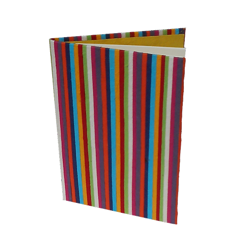 Striped Notebook