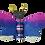 Thumbnail: Butterfly Fridge Magnet