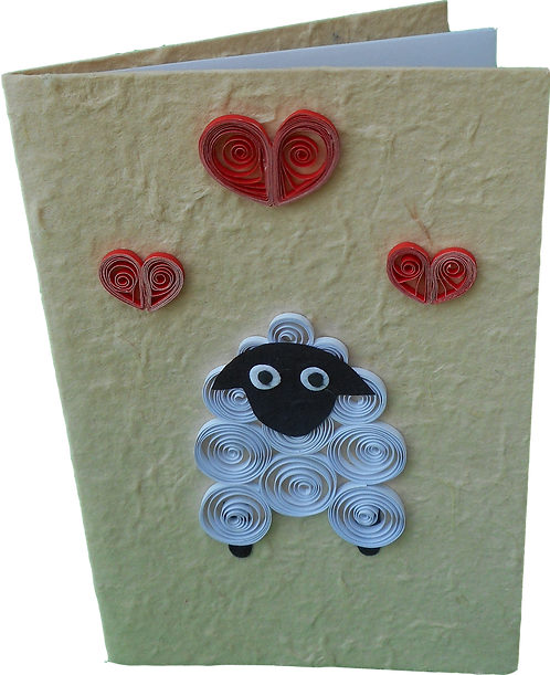 Quilled Sheep Cards