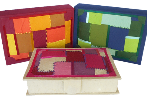 Patchwork Keepsake Box