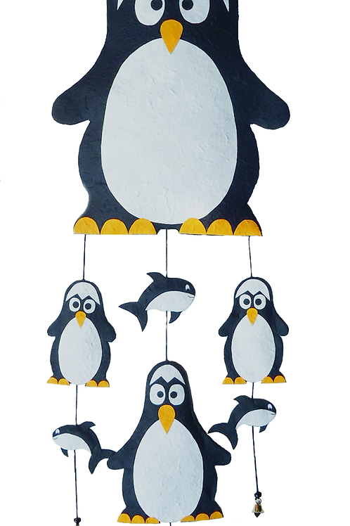 Penguin Family Mobile