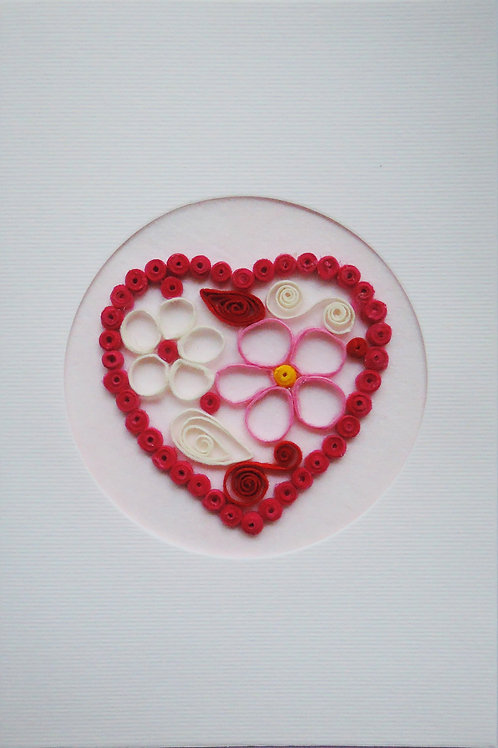 Quilling Meets Card Stock
