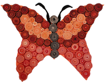 Wall quilled butterfly.png