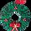Thumbnail: Christmas Door Wreath