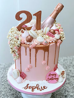 rose gold 21st birthday cake pink.JPG