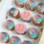 Personalised message cupcakes 88.JPG