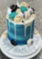 mens blue drip cake dark blue silver.JPG