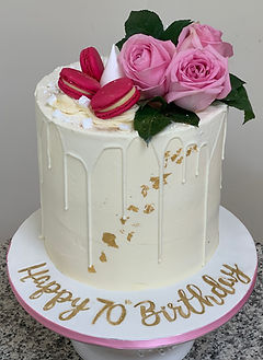 simple pink birthday drip cake .JPG
