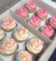 Vegan Vanilla Pink Rose Cupcakes.JPG