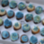 Mini Cupcakes Blue and Gold.jpg