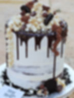 Chocolate Explosion Cake with Popcorn.JP