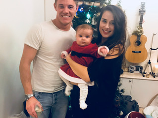 Our First Christmas with Isla
