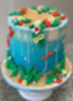 moana cake under the sea theme .jpg