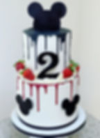 micky mouse cake 2 tiered black.JPG