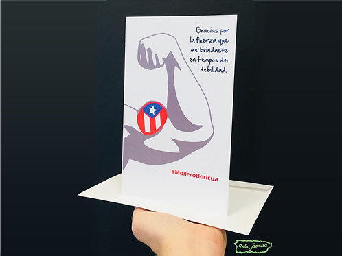 #MolleroBoricua - Postal