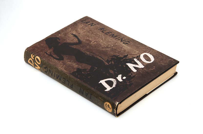 Dr No - 1st/1st with RARE first state (no dancing lady) binding