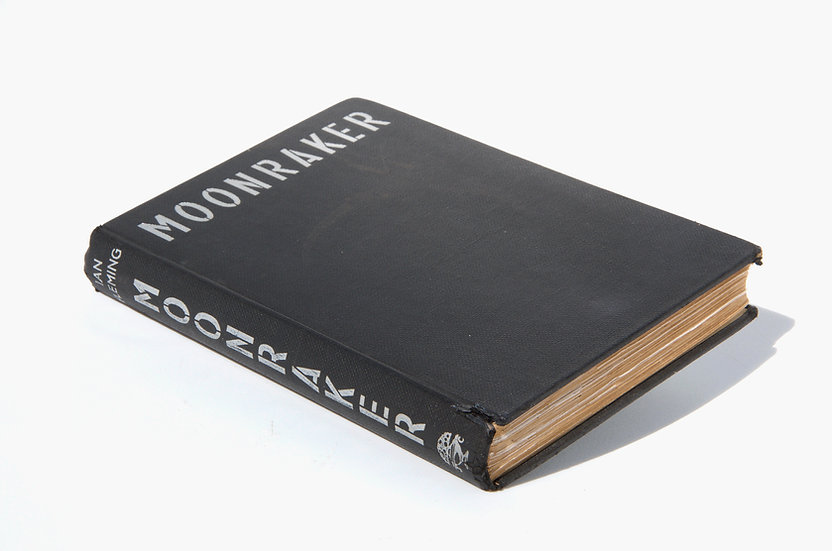 Moonraker 1st/1st - extremely rare 'shoo' variant