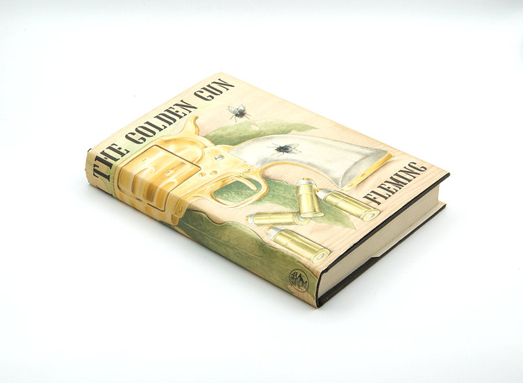 The Man With The Golden Gun 1st/1st - with RARE White Endpapers