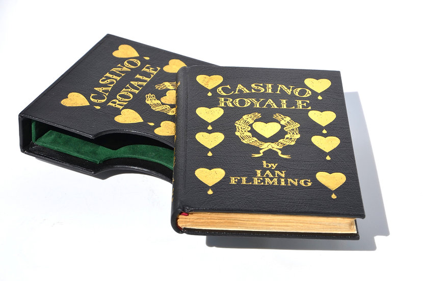 Casino Royale 1st/1st - Full leather rebind with slipcase