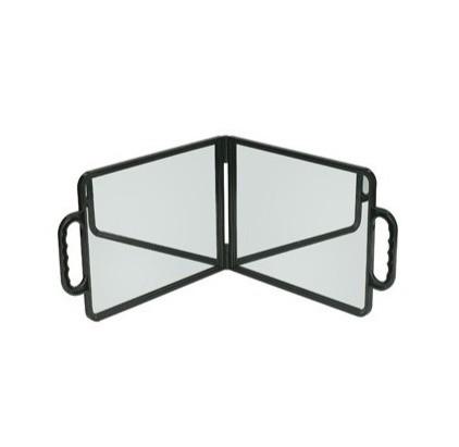 Double Folding Hand Mirror