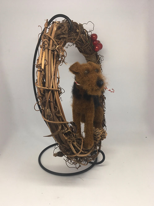 Terrier Wreath