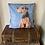 Thumbnail: Welsh terrier cushion cover /blue