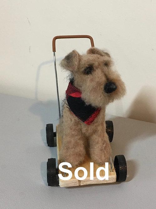 Vintage terrier [Sitting]