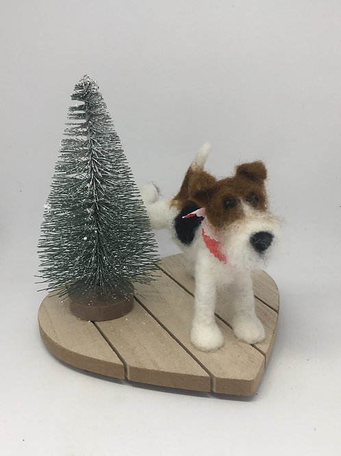 Watering the tree/ Wire Fox
