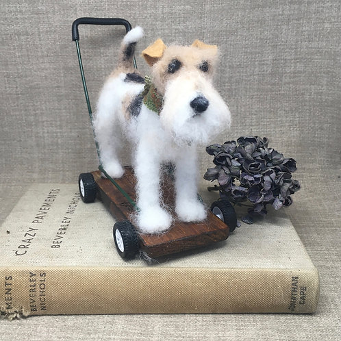 Vintage terrier /Wire Fox