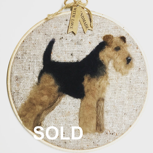 Welsh Terrier Hoop