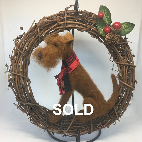IrishTerrier Wreath