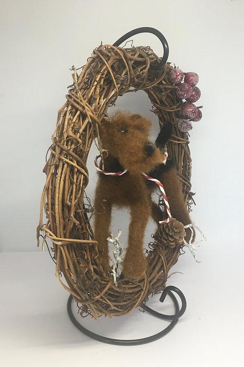 Terrier Wreath