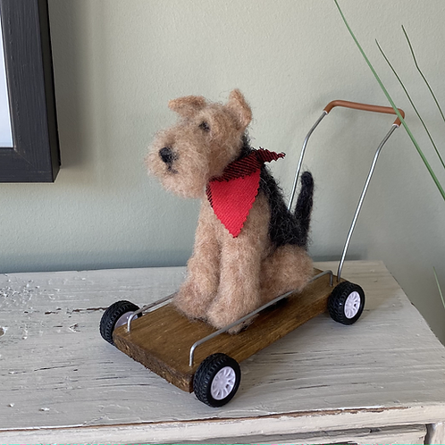 Terrier on Wheels
