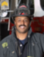Fireman with Mustache