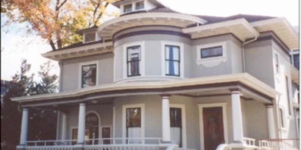The Scheller House's new location - 10th & San Antonio