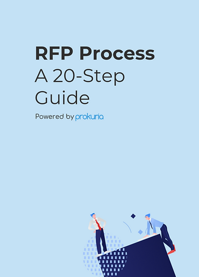 Learn how to streamline your RFP Process and save time and money. Find out how to Gather requirements, Draft your RFP, Conduct initial evaluation, Follow Up with vendors and create the final contract. Free Download!
