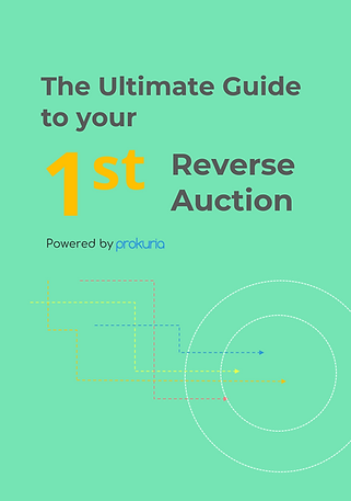 The Ultimate Guide to Your First Reverse Auction